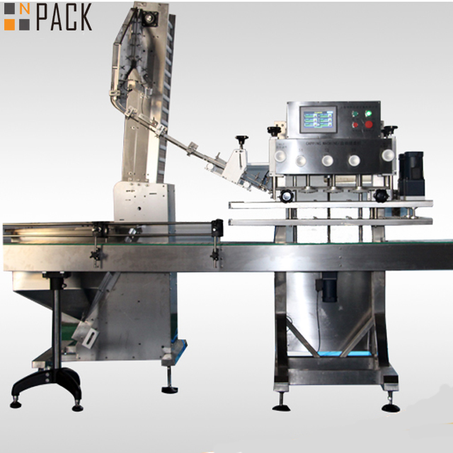 Automatic 6 Wheels Linear Trigger Capping Machine