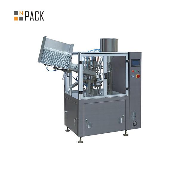 Máquina de sellado de llenado de tubos de plástico industrial para cosméticos