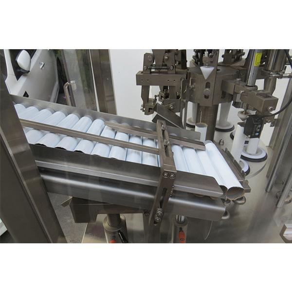 Máquina automática de llenado y sellado de tubos de ungüento de piel suave