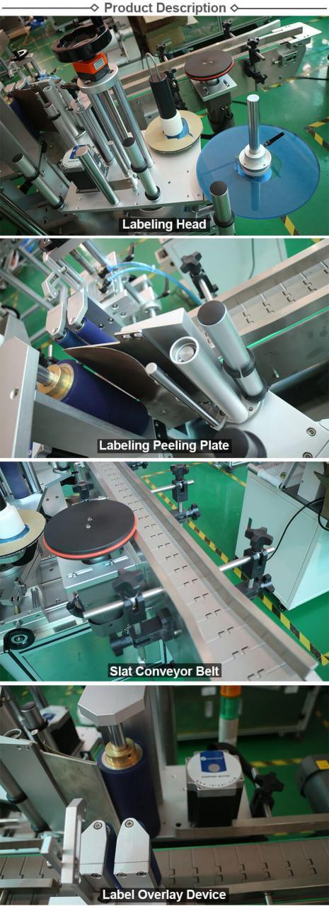 HL-T-406 Jarra / Lata / Botella Redonda Máquina Rotativa Automática de Etiquetado