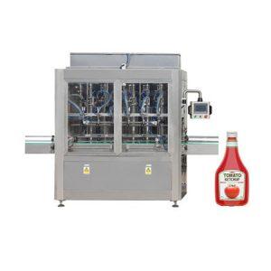 Máquina de llenado de mermelada de tarro de salsa de pasta de tomate