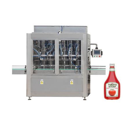 Máquina de llenado de pasta para pasta de tomate, crema cosmética