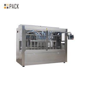 Máquina automática de llenado de líquidos de seis cabezales