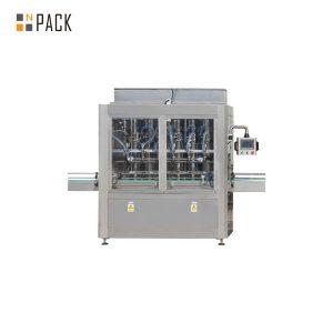 Llenadora automática lineal de pistones rectos para aceites esenciales
