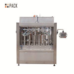 Máquina automática de llenado de líquidos con salsa de tomate volumétrica