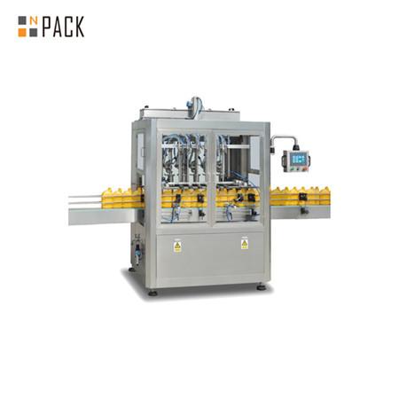 Máquina automática de llenado de pasta para cocinar aceite, salsa
