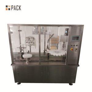 Máquina de llenado de líquidos e control digital completamente automático de 40-1000 ml
