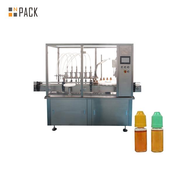 Máquina automática de llenado de spray desodorante líquido para lavar platos