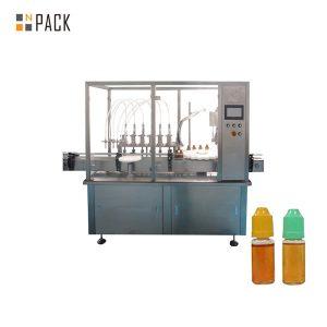 Máquina de llenado de líquido con bomba peristáltica para frasco pequeño