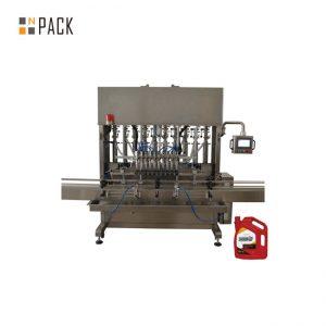 Máquina de etiquetado de llenado y llenado de botellas de pasta de tomate pequeña automática de alta calidad para tarro de vidrio