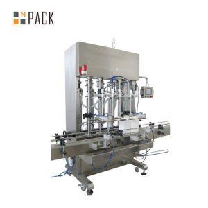 Máquina automática de llenado de líquidos para aceite lubricante lubricante