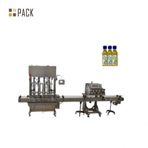 máquina automática de llenado de aceite de semilla de girasol / aceite de maíz / aceite de colza