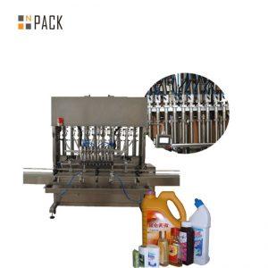 Máquina automática de llenado de botellas líquidas para llenado de botellas de gotas para los ojos