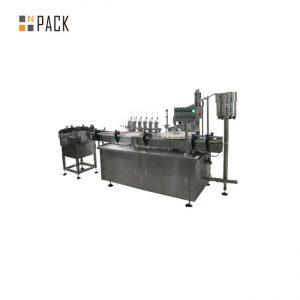 Máquina de etiquetado de tapado de llenado de líquido e gotero de vidrio personalizado para líquido de cigarrillo electrónico