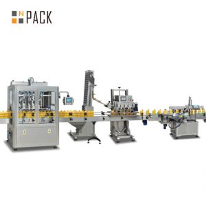 Línea de llenado de aceite de semillas de girasol de alta calidad / máquina de llenado de aceite