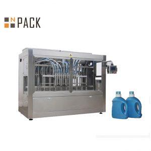 Máquina automática de envasado de botellas de aceite de mostaza con 10 boquillas líquidas