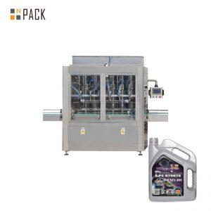 Máquina de llenado de pasta de relleno de miel de pistón neumático de cabeza simple de 5-5000 ml para botella de líquido