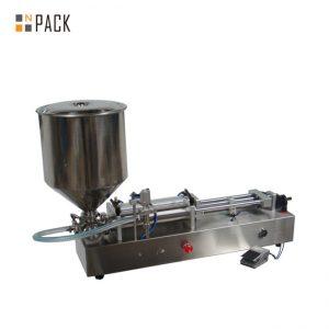 Máquina de llenado de helado muy popular / máquina de llenado de doble cabezal / máquina de llenado de esmalte de uñas