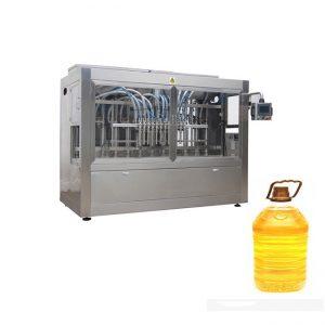 Aceite comestible automático aceite de oliva aceite de semilla de girasol máquina de llenado de 4 cabezales, línea de producción de llenado