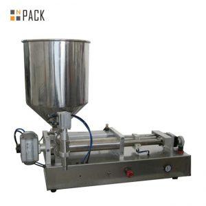 Máquina de llenado de líquidos con ácido semi automático de 2 cabezas Costomic