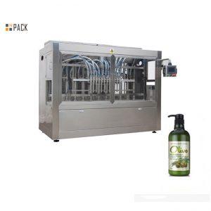 Máquina llenadora automática completa de champú para baño de manos embotellada