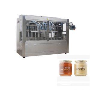 Máquina de embotellado de miel de tarro de envasado barato