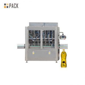 Máquina automática de llenado y llenado de botellas de aceite para motor con certificado GMP