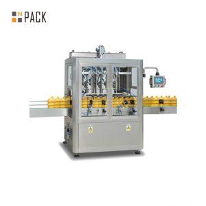 Máquina de llenado y tapado de botellas de jarabe para medicamentos
