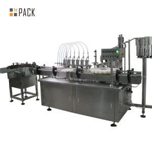 Máquina de llenado y etiquetado de gotas para los ojos de 10 ml
