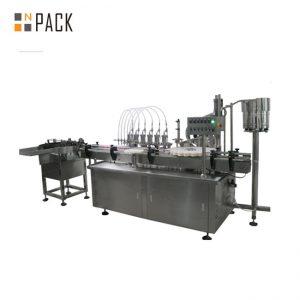 10ml y 60ml precio de fábrica E maquinaria de llenado de botellas líquidas