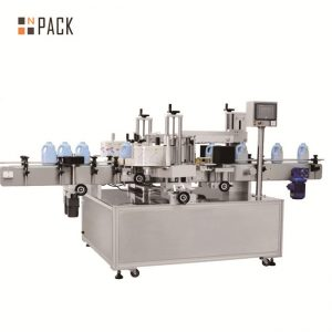 Máquina de etiquetado automático de contenedores redondos tipo vertical T
